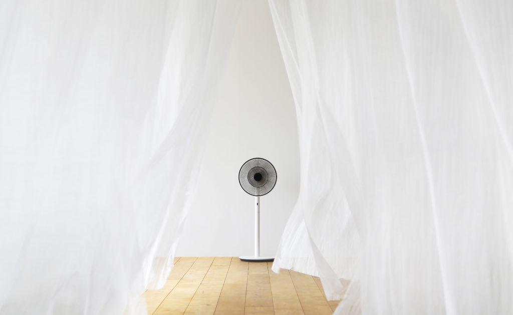 """Werbung   """"The Green Fan""""- Ventilator von BALMUDA – Das ganze Jahr über Wind wie aus der Natur"""