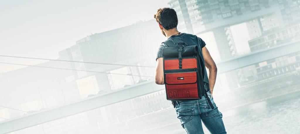 Werbung | Rolltop-Rucksack Eddie – viel Stauraum in robustem Gewand – Feuerwear