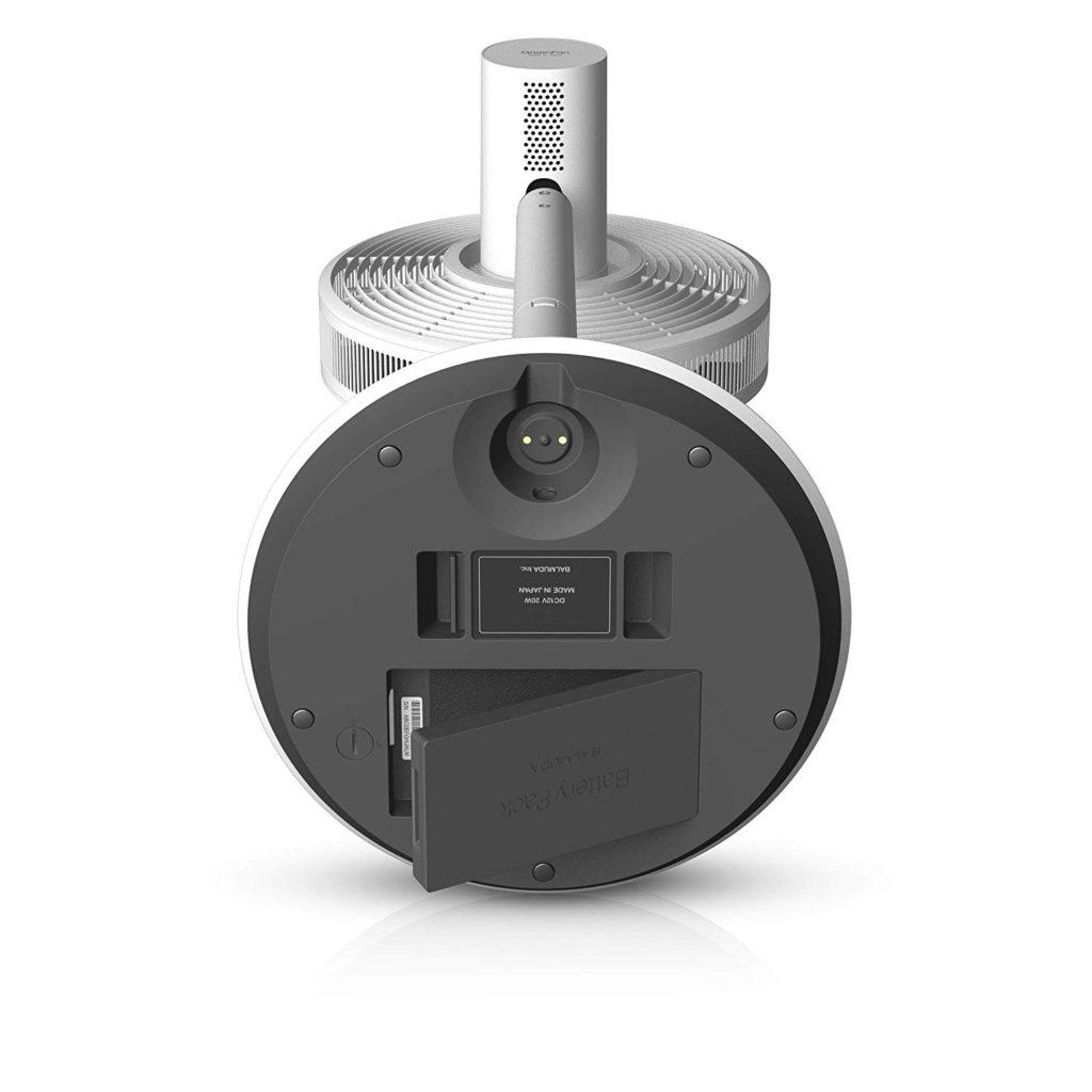 """Werbung   """"Battery & Dock"""" für den GreenFan-Ventilator von BALMUDA ist da"""