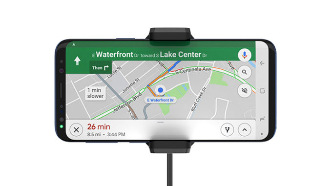 Werbung | BOOST↑UP™ Universal-Kfz-Halterung mit Qi-Technologie – kontaktloses Aufladen im Auto