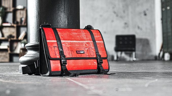 Werbung | Messenger Bag Gordon – Feuerwear