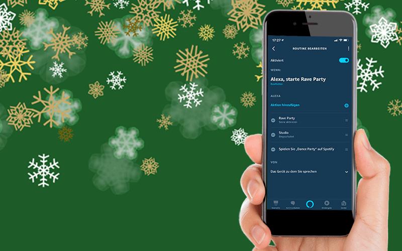 Werbung | MERRY LIF-X-MAS – Smarte Weihnachten mit drei einfachen Alexa-LIFX-Routinen