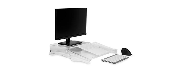 Werbung | Q-doc 100 von BakkerElkhuizen – ergonomisches Arbeiten am Bildschirm
