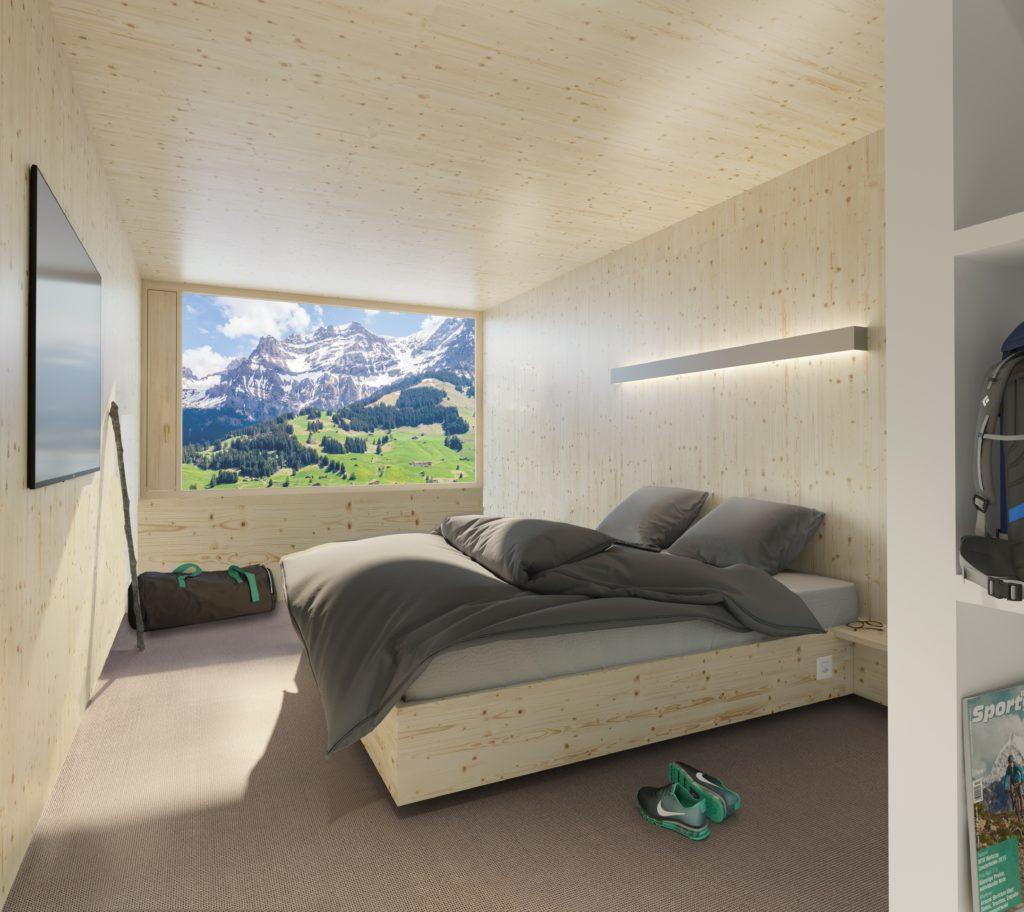 Werbung   Das etwas andere Berghotel: Revier Mountain Lodge Adelboden eröffnet am 18. Juni 2020