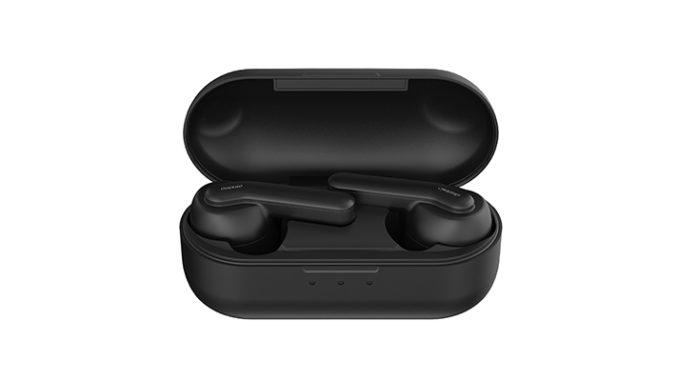 Werbung | auvisio In-Ear-Headset IHS-770.anc mit Geräusch-Unterdrückung ANC und Powerbank – langes Musikhören ohne Nebengeräusche