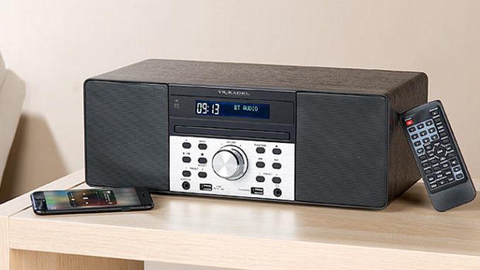 Werbung | Multifunktionelles DAB Radio mit CD Player und Bluetooth