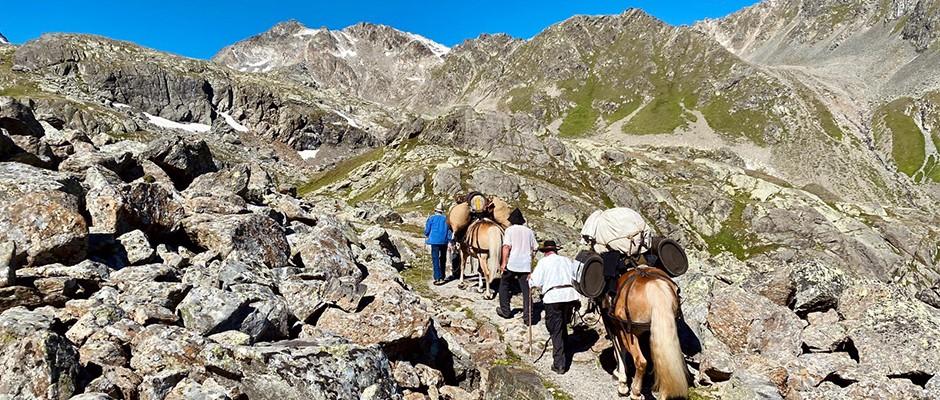 Säumerwanderung Via Valtellina