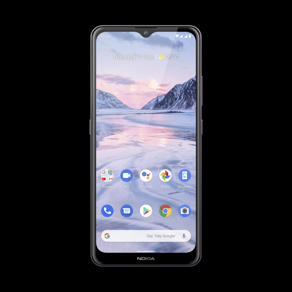 Werbung   Nokia 2.4 - Ein neues Einsteigermodell