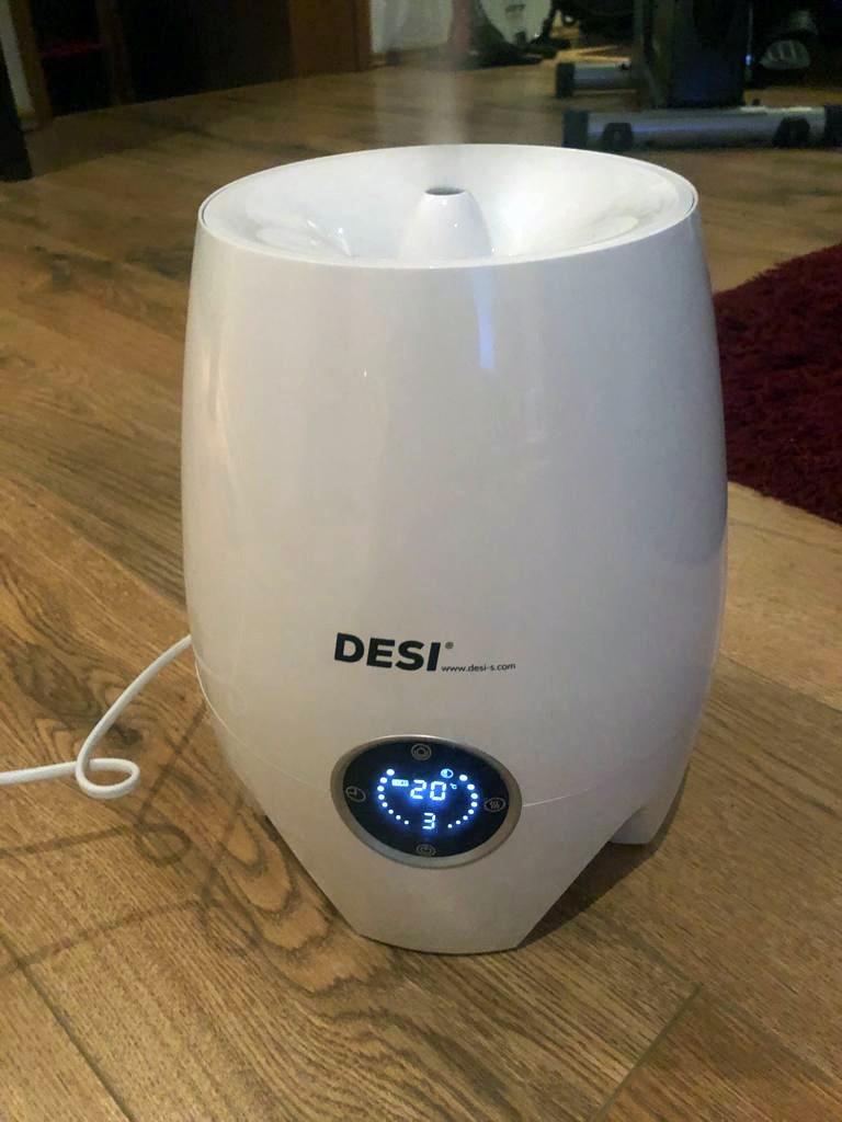 Der DESI-Mini-Jet – Desinfizieren und Befeuchten der Raumluft