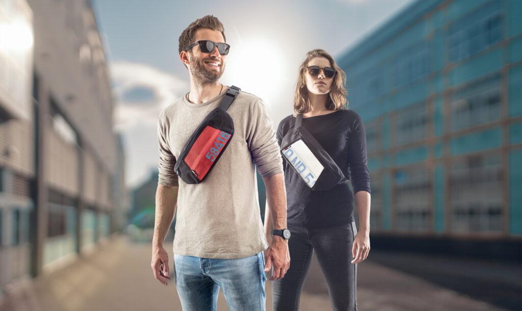 Alles dabei und geschützt am Körper - Die neue Hip-Bag Ollie von Feuerwear