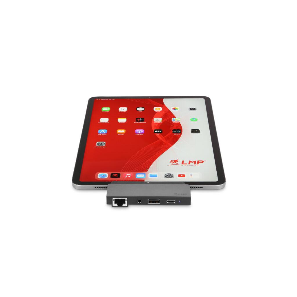 USB-C Tablet Dock Pro von LMP – Perfekte Peripherie-Ergänzung für das iPad Pro/Air