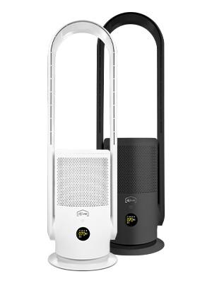 djive Flowmate ARC Casual 2-in-1-Luftreiniger - saubere Luft, einfach smart und stylish