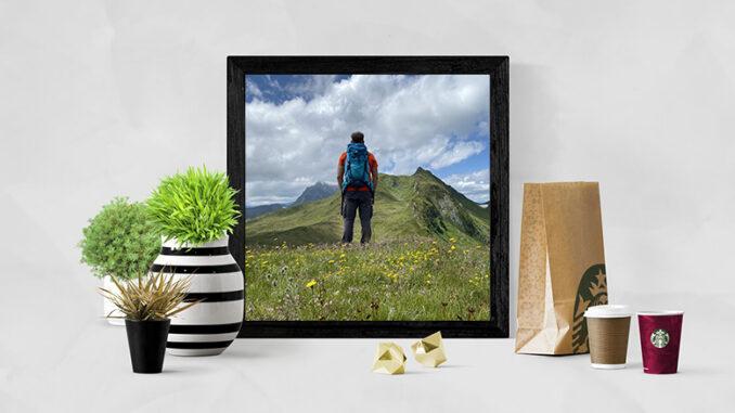 Die Natur Zuhause haben - Wandposter können das ermöglichen