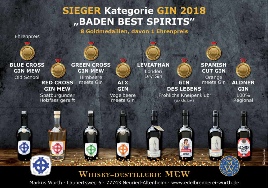 Edelbrennerei-wurth - Ausgezeichneten Gin und mehr entdecken
