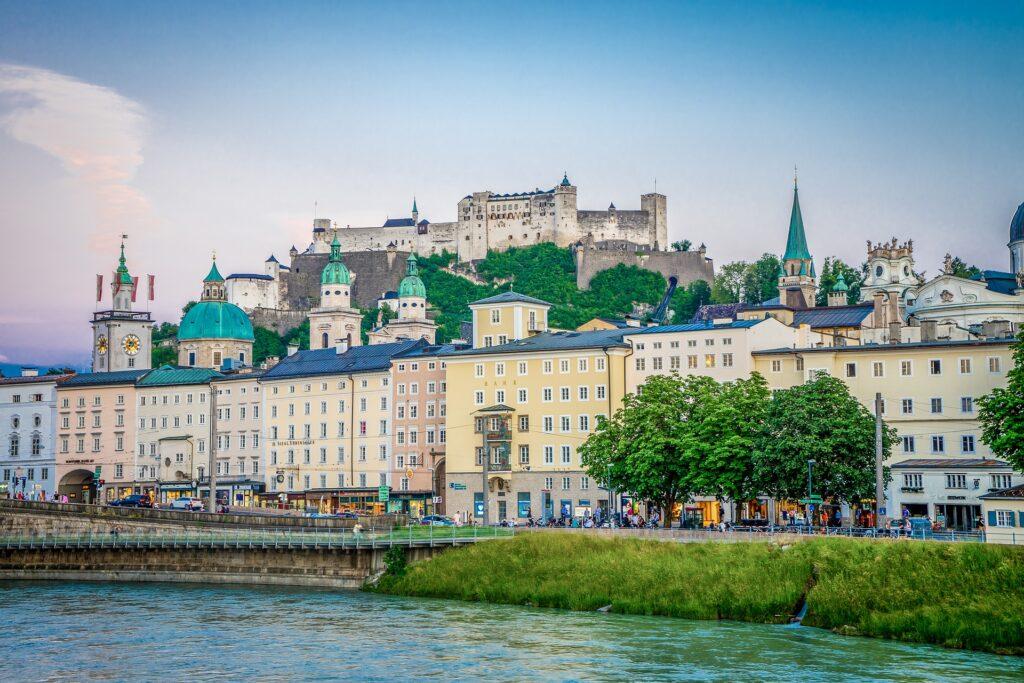 Die wichtigsten Sehenswürdigkeiten in Salzburg