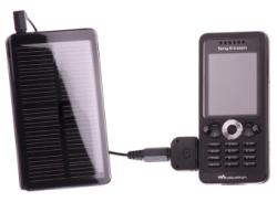Werbung | Solar-Ladegerät für Handys und Co
