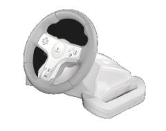 Werbung | Logitech Speed Force Wireless Wheel für Nintendo Wii