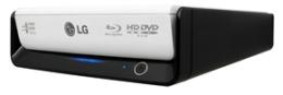 Werbung   HD-DVD und Blu-Ray in einem Gerät – LG´s externer Blu-Ray-Brenner
