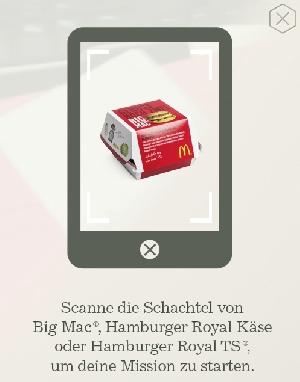 Werbung | McMission App – McDonald's neu entdecken und Gewinnen
