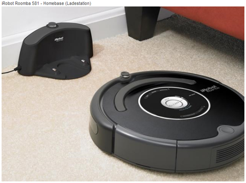 staubsauger roboter irobot roomba 581 trendlupe ein trendiger blick auf produktneuheiten und. Black Bedroom Furniture Sets. Home Design Ideas