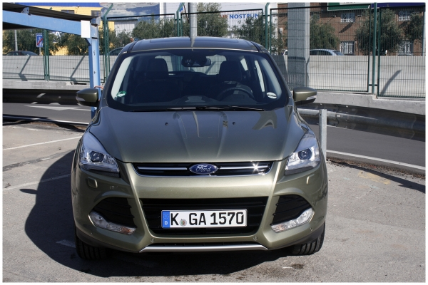 Werbung   Ford Kuga Trends – Test Drive in Valencia