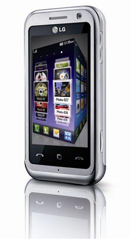 Werbung | LG KM900 – Multimedia-Handy mit neuer 3D-Benutzeroberfläche