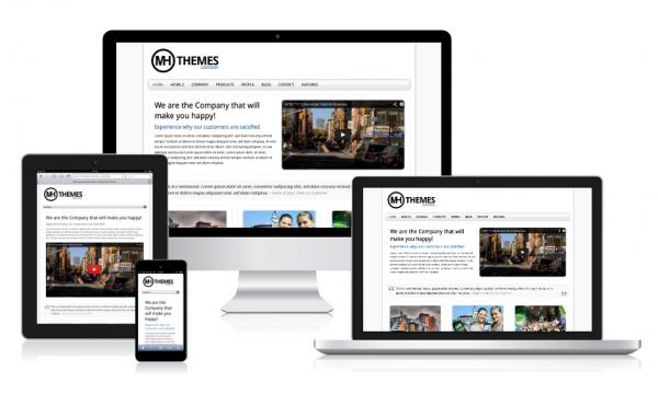 Deutsche WordPress Themes von MH Themes