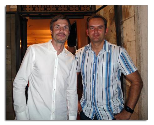 Werbung | Thomas Helmer und Blogger Milos – Sony Twilight Venedig