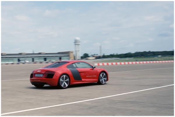 Audi future lab tron-experience