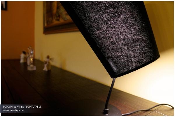 Designer Tischleuchte SOIHTUTABLE