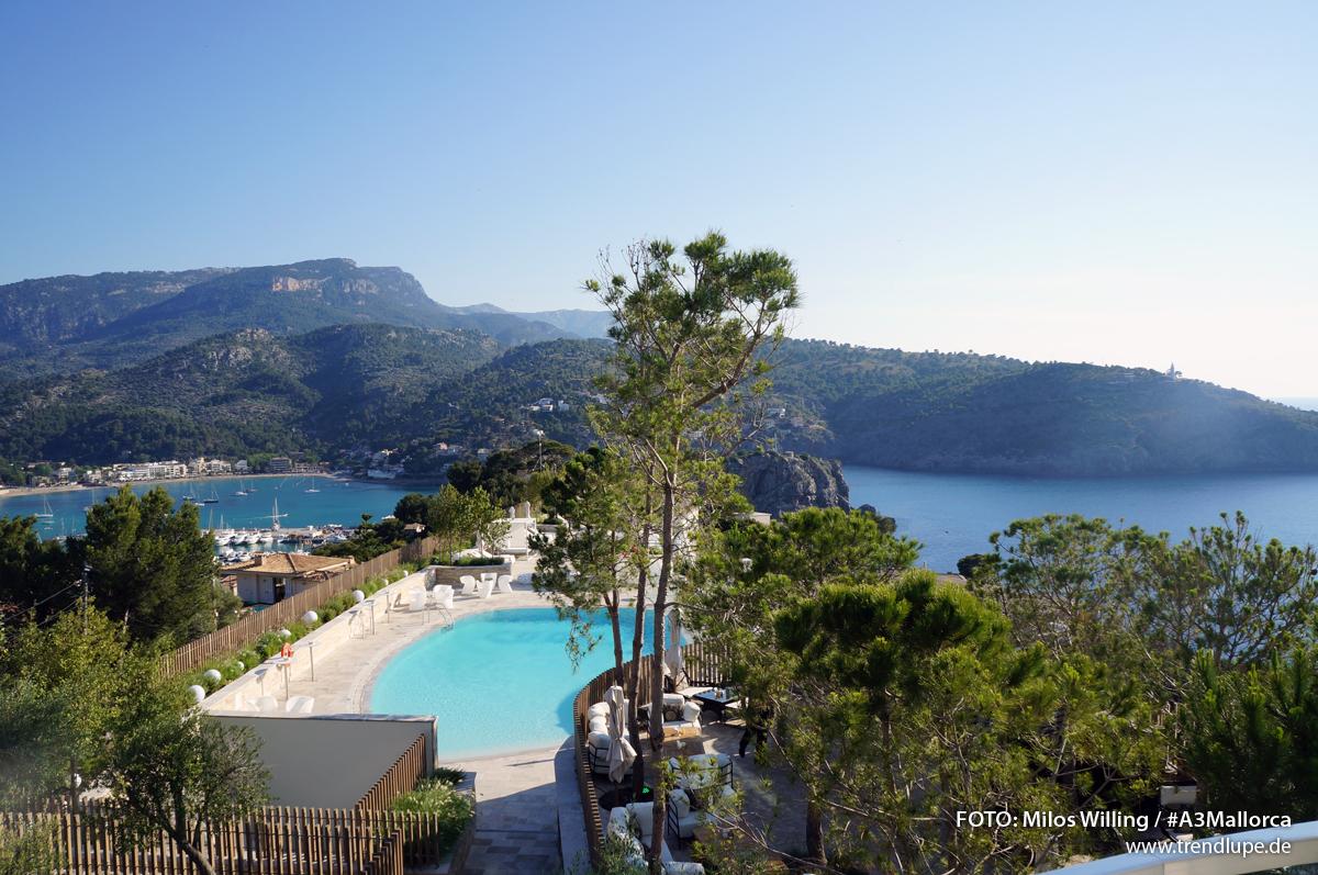 Audi a3 event auf mallorca und jumeirah port soller hotel for Design hotels auf mallorca