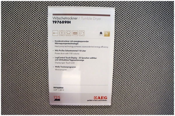 AEG ProTex-Lavatherm T97689IH