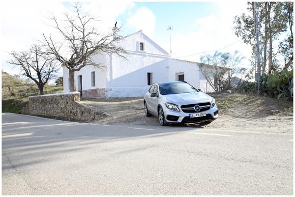 Der neue GLA 45 AMG von Mercedes