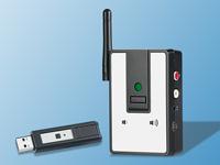 Werbung | Digitales Audio-Funksystem für Musik von PC & Notebook – auviso