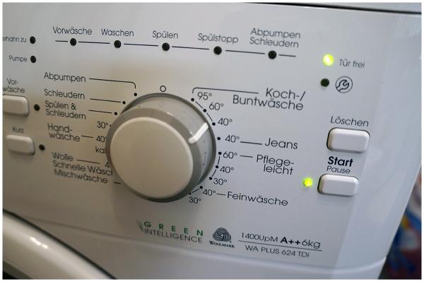 Clean+ Flecken Test:  Bauknecht WA Plus 624 TDi