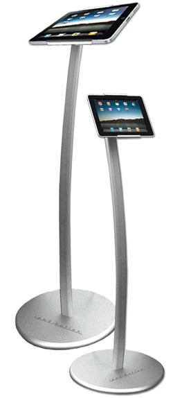 Werbung   Aus dem iPad wird eine Infosäule
