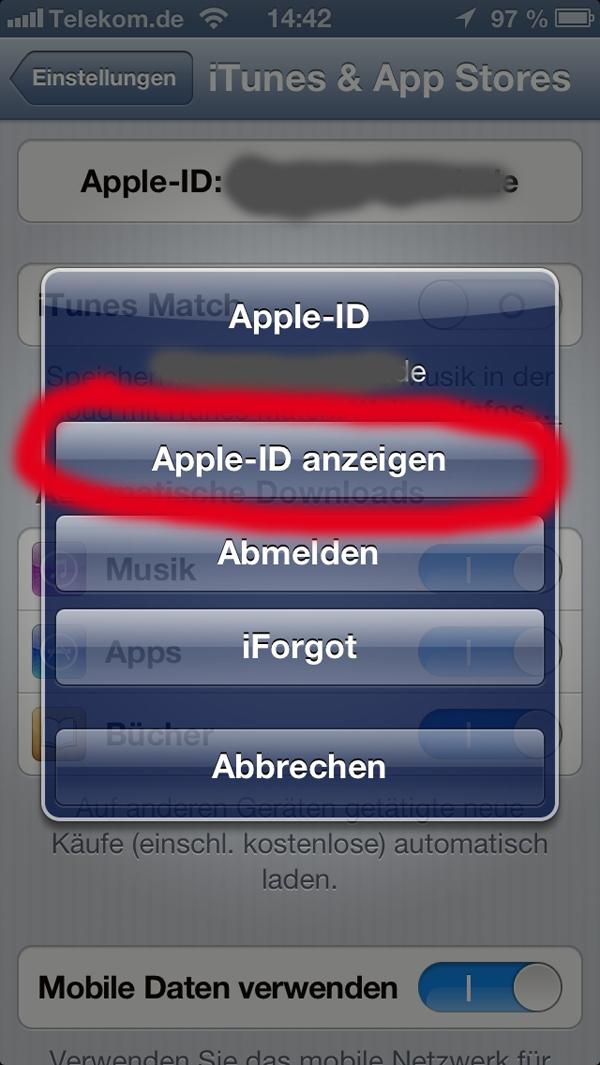 iphone app abo beenden