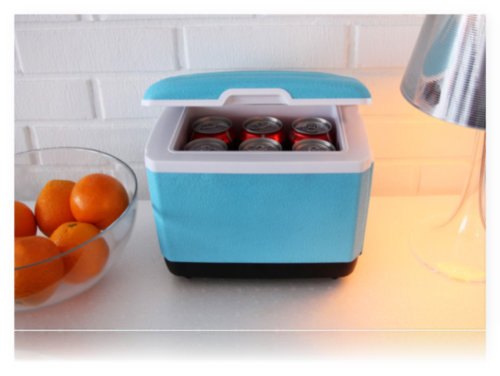 Kleiner Kühlschrank Auto : Sommergadgets mini fridge der mini kühlschrank u trendlupe ein