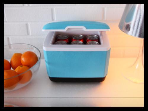 Auto Kühlschrank Klein : Sommergadgets mini fridge der mini kühlschrank u trendlupe ein