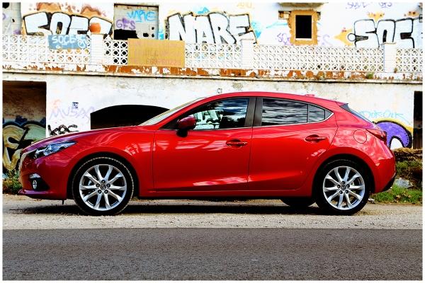 Fotos von der Mazda3 Probefahrt in Barcelona #mazda3