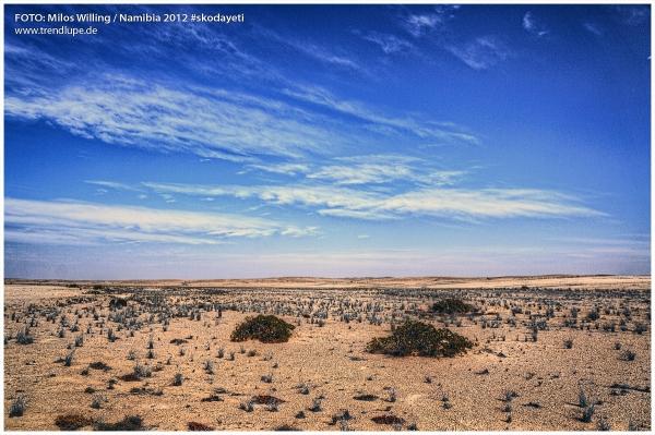 Namibia Skoda Yeti Safari