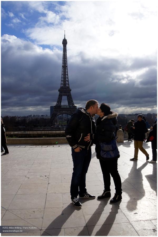 Paris – die Stadt der Küsse