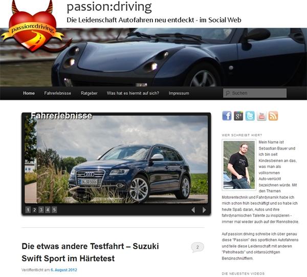 passion:driving - Rund ums Auto und mehr