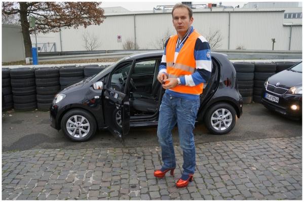 SKODA Citigo Fahrsicherheitstraining in Frankfurt