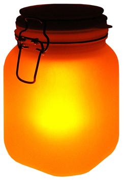 Werbung   Das persönliche Glühwürmchen – Sun Jar