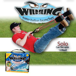 Werbung | Wild Sling Solo – ultimatives Wasserbomben-Katapult